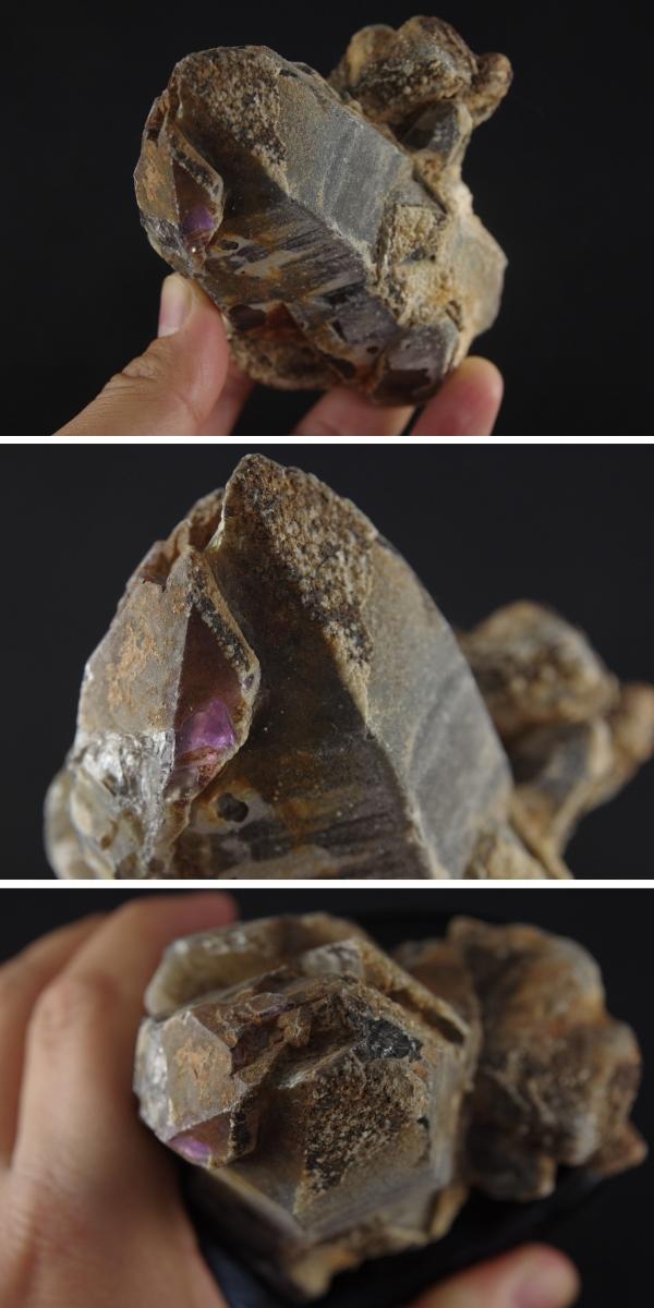 ブラジル産黒水晶