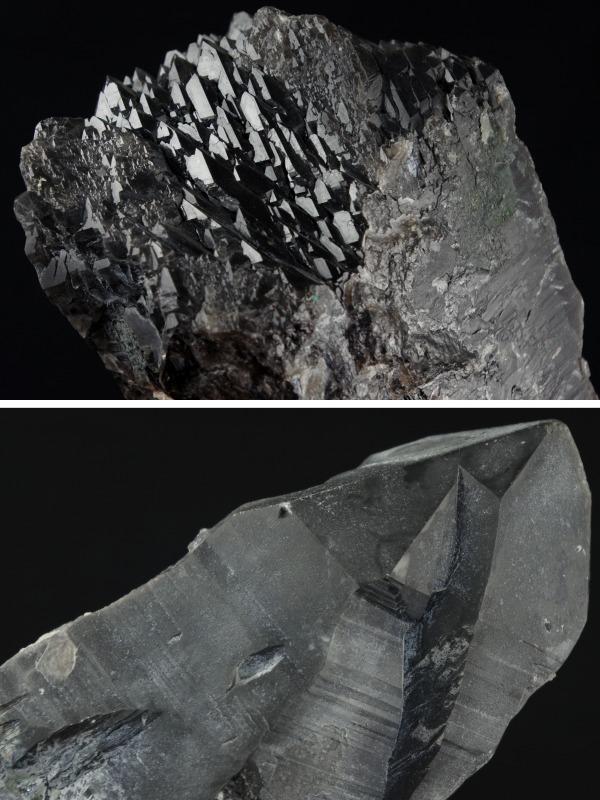 黒水晶原石結晶