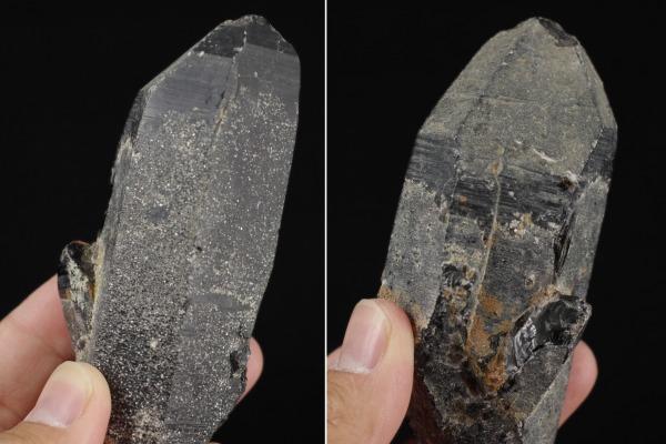 黒水晶結晶