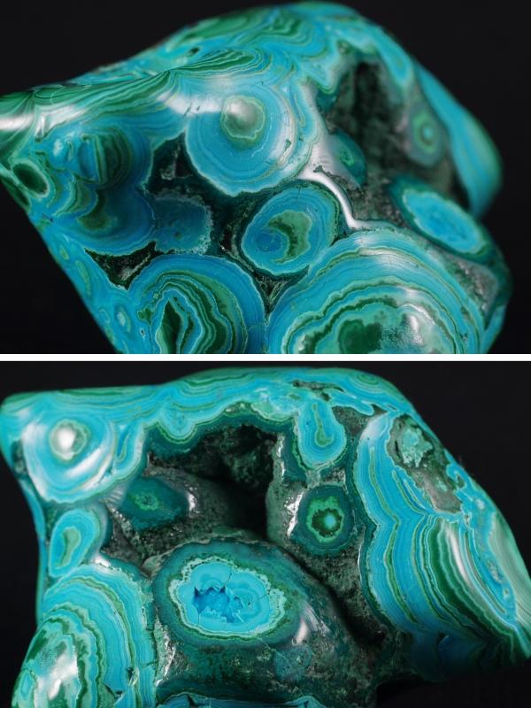 クリソコラ/マラカイト(珪孔雀石/孔雀石)原石
