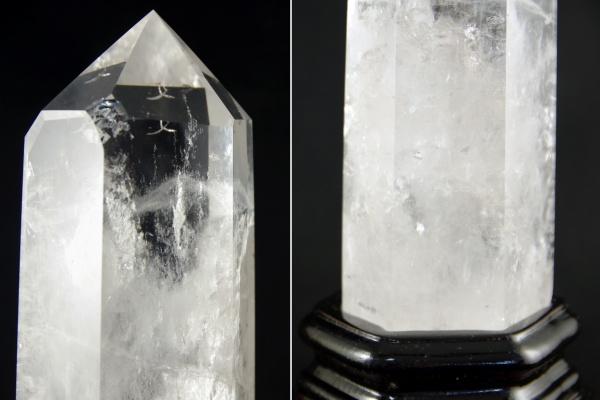 天然水晶ポイント ポリッシュ研磨
