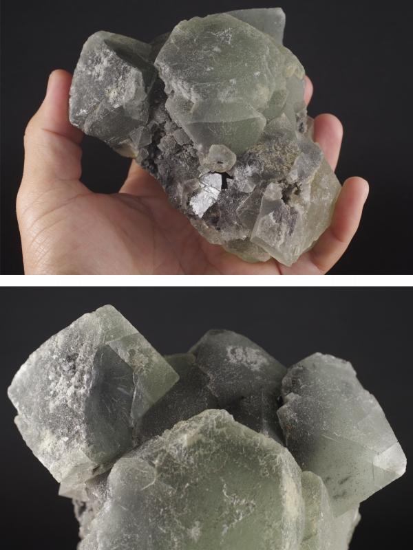 フローライト(蛍石)原石 磨きなし3.0kg