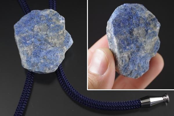 ループタイ 化石アンモナイト×クリソ